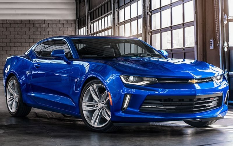 Chevrolet Camaro has broken a sales record in Russia