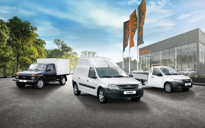 Russian LCV market has kept the sixth spot in European rankings in 2017