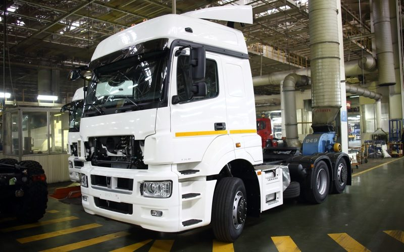 KAMAZ has launched a new assembly line in Uzbekistan
