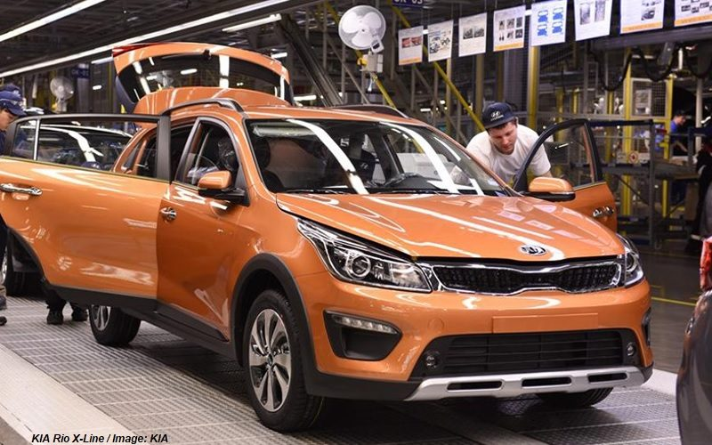 St. Petersburg automotive industry down by 9% in March 2018