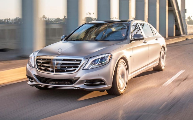 Mercedes-Benz Maybach S-Class - luxury car sales - luxury car market