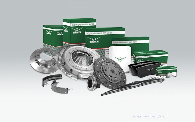 UAZ has launched online components exports