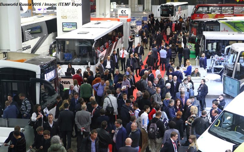 Busworld Russia powered by Autotrans: 23 – 25 October 2018 Moscow