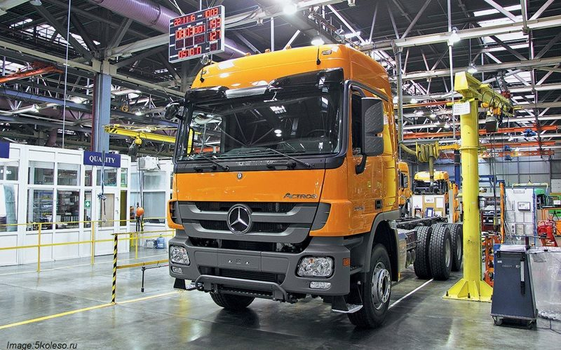 KAMAZ and Daimler plan to invest $745 million in Russia within 10 years