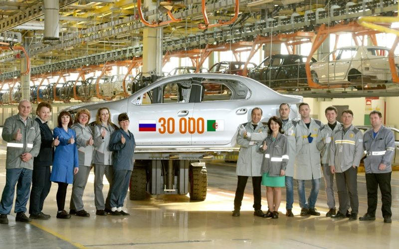 Renault Russia has exported the 30.000th Russian production body to Algeria