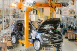 The production of the new Ford EcoSport has started in Russia
