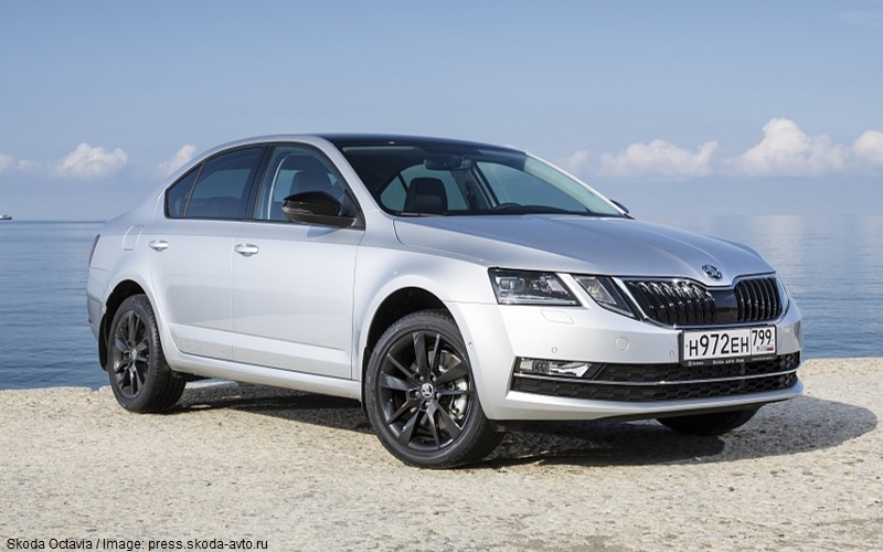 Skoda Octavia 2018 - Russian-made cars
