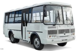 Russian bus market has grown by 17% in April 2019