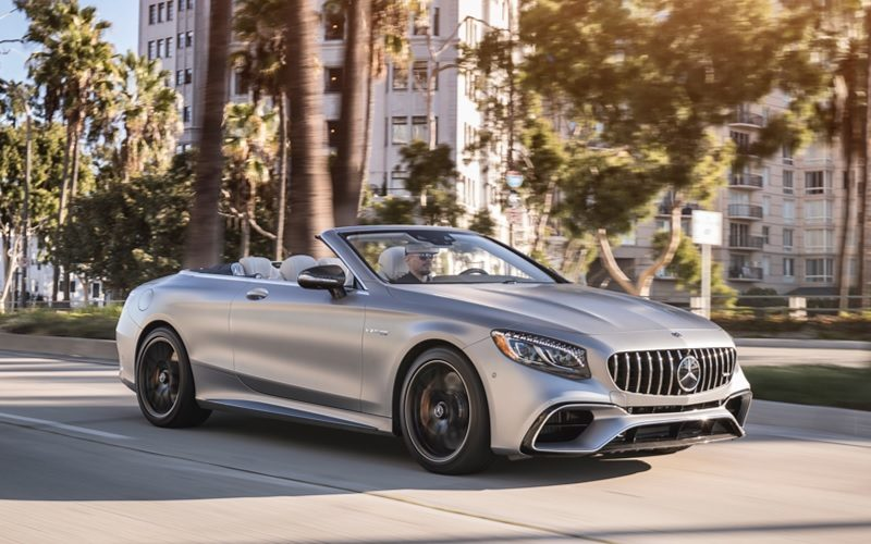 Luxury car sales fell by 1% in August 2018