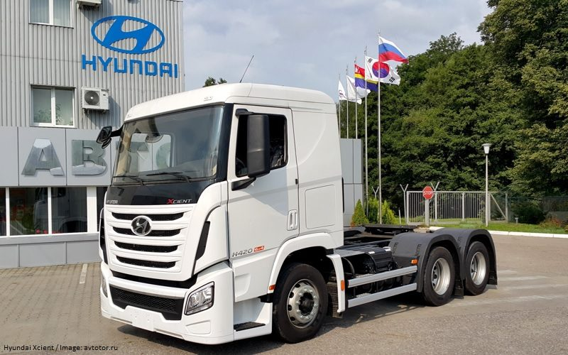 Avtotor will start the production of Hyundai Xcient heavy trucks