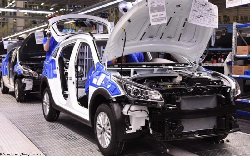 St Petersburg automotive industry has grown by 17% in November 2018