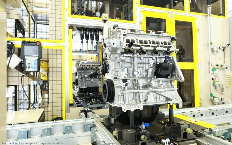 Mazda Sollers will boost engine production by 6 times in Russia in 2020