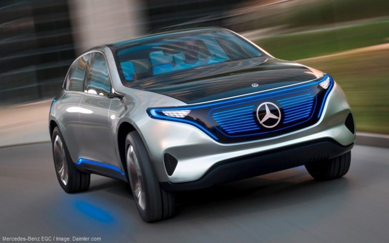 Mercedes-Benz EQC will be on the Russian market in 2020