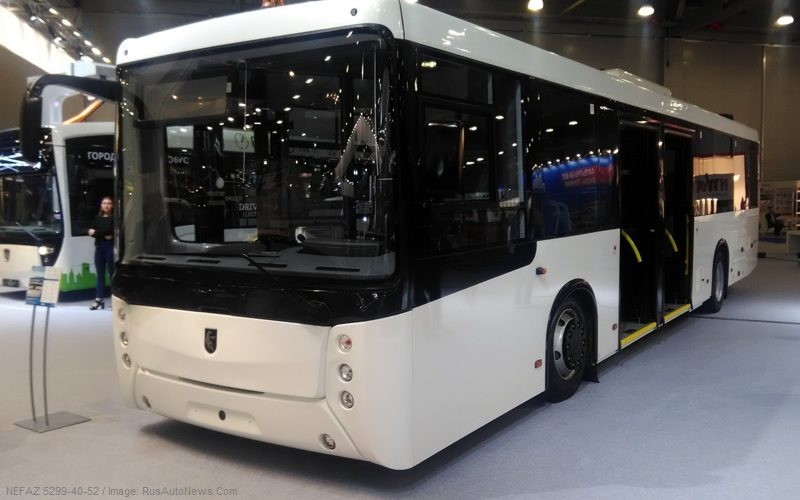 KAMAZ has won the tender on the supply of 600 NEFAZ buses to Moscow