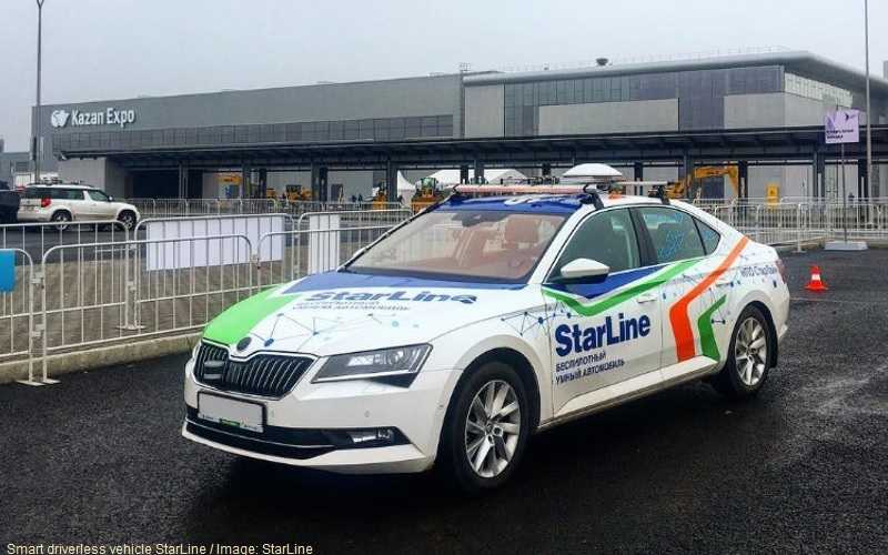 Smart Driverless Car StarLine