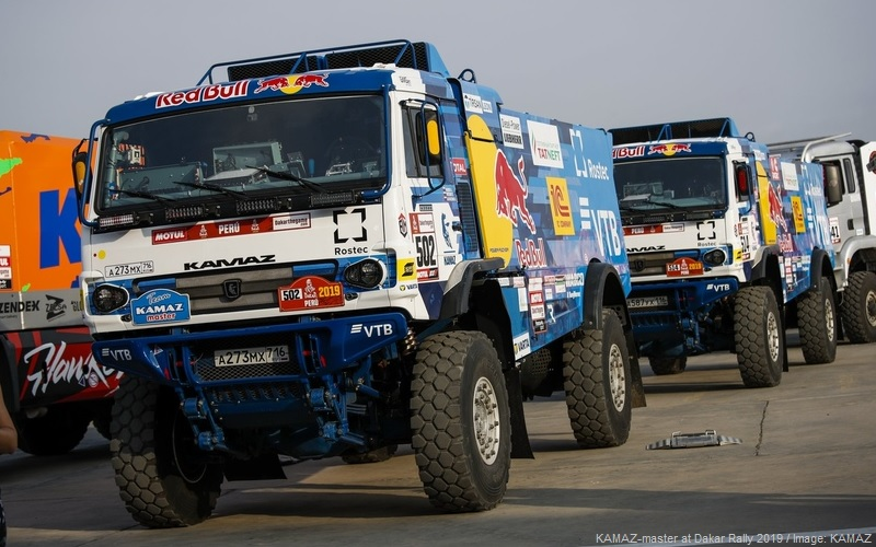 KAMAZ-master at Dakar Rally 2019