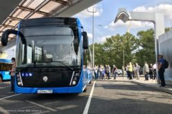Moscow has ordered 100 KAMAZ electric buses