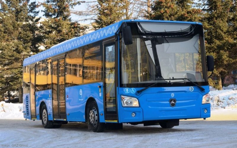 GAZ Group will supply approximately 500 buses to Moscow