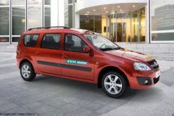 Avtovaz has started the production of Lada Largus on methane