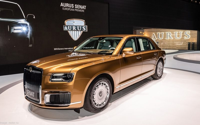 The first Aurus Senat automobiles will be ready in May 2021