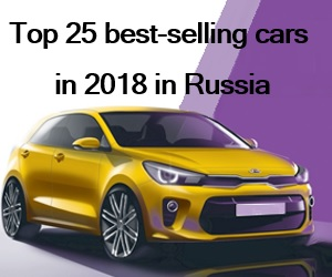Top 25 Best Selling Cars In 2018 In Russia Rusautonews Com