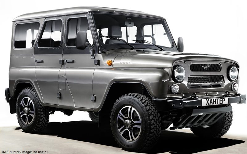 UAZ Hunter is on the Chilean market