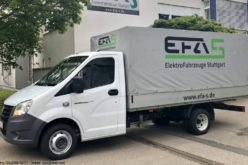 German EFA-S starts production of electric vans based on GAZelle Next