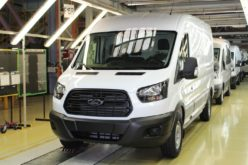 The production of the updated Ford Transit has started in Russia