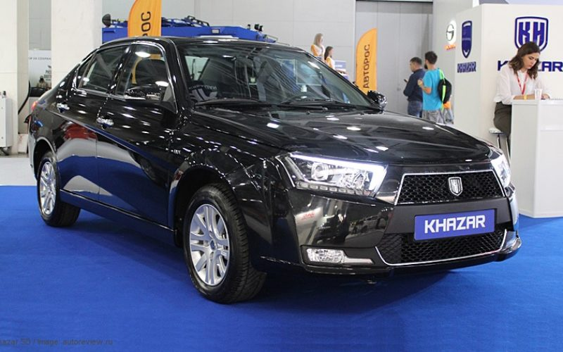 The first supply of Khazar SD cars is being prepared for the Russian market