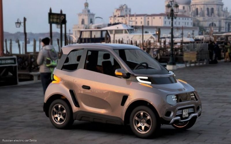 Russian electric car Zetta to be launched during the first quarter of 2020