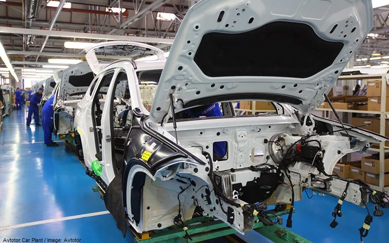 Avtotor plans to cut the car production by 40% in 2020