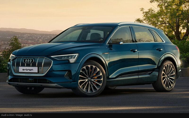 Audi e-tron electric crossover is available for order in Russia