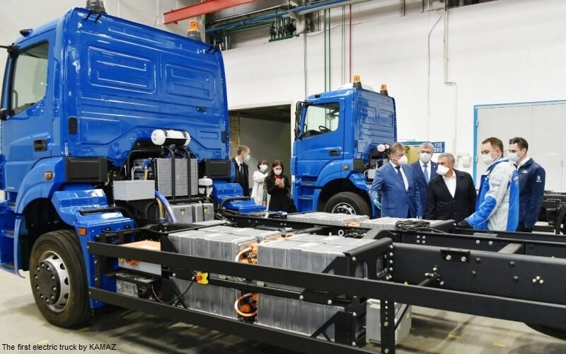 KAMAZ Chistogor: the first electric truck by KAMAZ