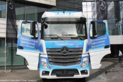 The first Mercedes-Benz Actros Euro 6 has rolled off the conveyor of the Daimler Kamaz Rus factory