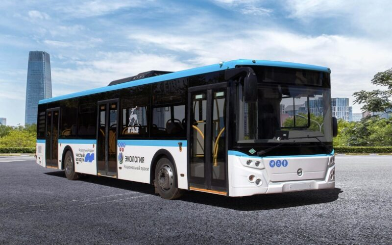 GAZ Group has developed a bus running on liquefied natural gas