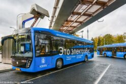 The 500th electric bus has joint the Moscow fleet