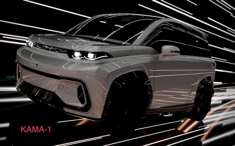 The first Russian electric crossover Kama-1 will be released in 2021