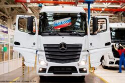 The 25,000th Mercedes-Benz Actros has rolled off the conveyor in Russia