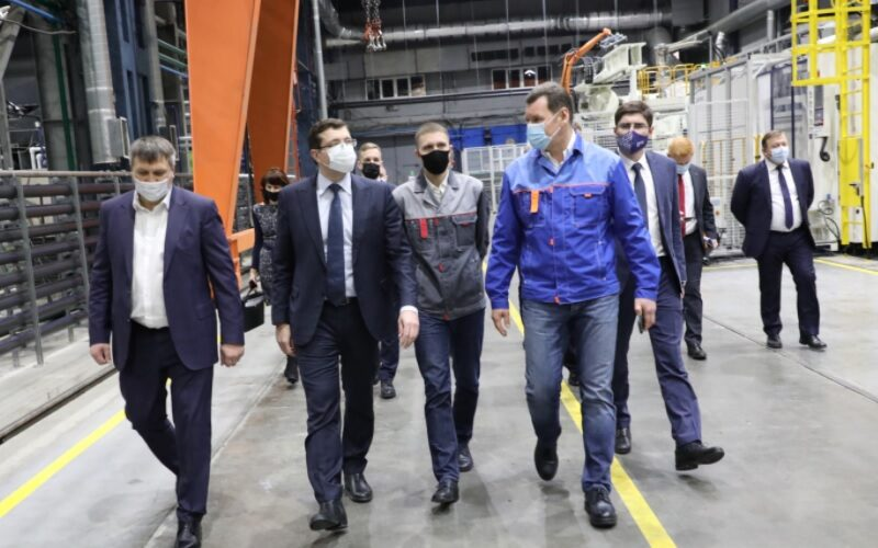 Plastic car components production has been launched in Nizhny Novgorod