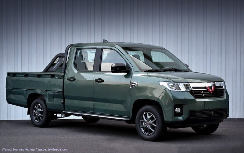Chinese Wuling has presented the new Journey pickup, similar to UAZ