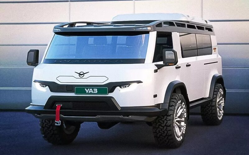 UAZ has presented the concept of the upgraded version of Bukhanka