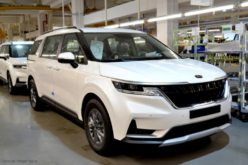 The production of KIA Carnival crossvan has been launched in Kaliningrad