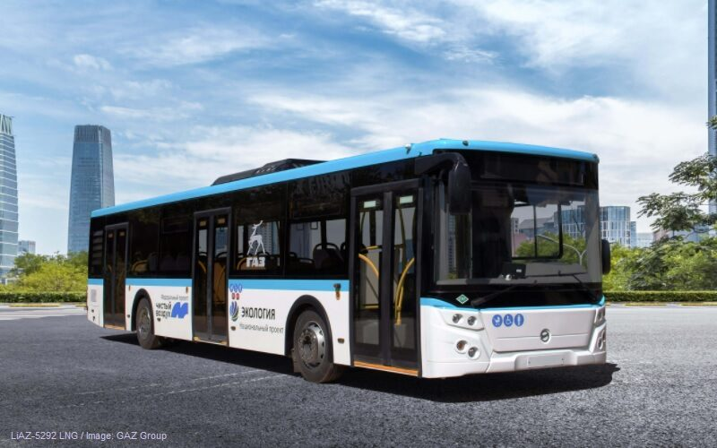 GAZ Group has started the production of LNG buses