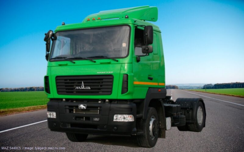 Russian truck market has grown by 5% in February 2021