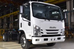 The production of the new Isuzu Elf 8.0 chassis has started in Russia