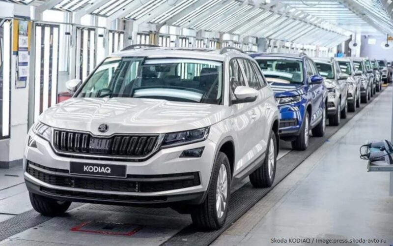 Skoda Auto has manufactured its 750,000th automobile in Russia
