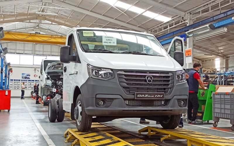 GAZ Group has started the production of Gazelle NN in Turkey