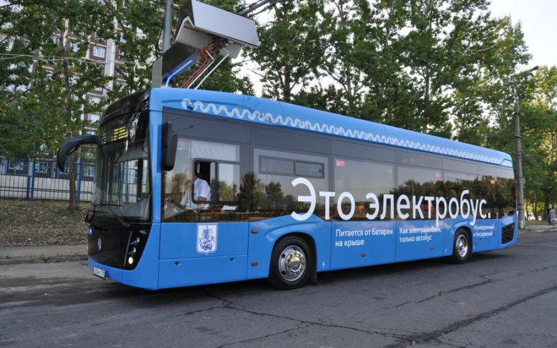 The first 60 Kamaz electric buses have been assembled in Moscow