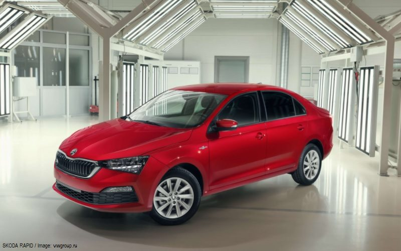 The 250,000th Skoda Rapid has been manufactured in Russia