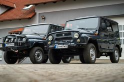 The production of the electric UAZ Hunter has started in Czechia